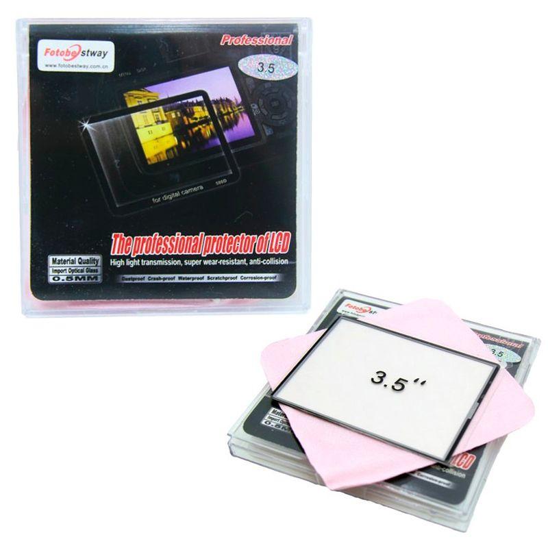 """Protetor de tela LCD 3.5"""" para câmera DSLR ou vídeo  - Diafilme Materiais Fotográficos"""