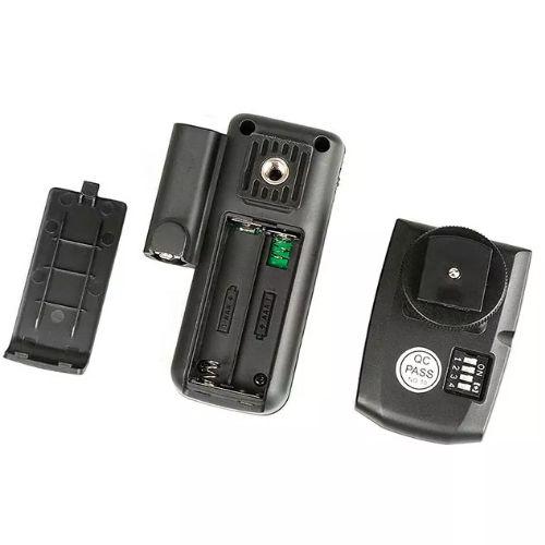 Rádio Flash CT16 New Disparador Remoto - 16 Canais  - Diafilme Materiais Fotográficos