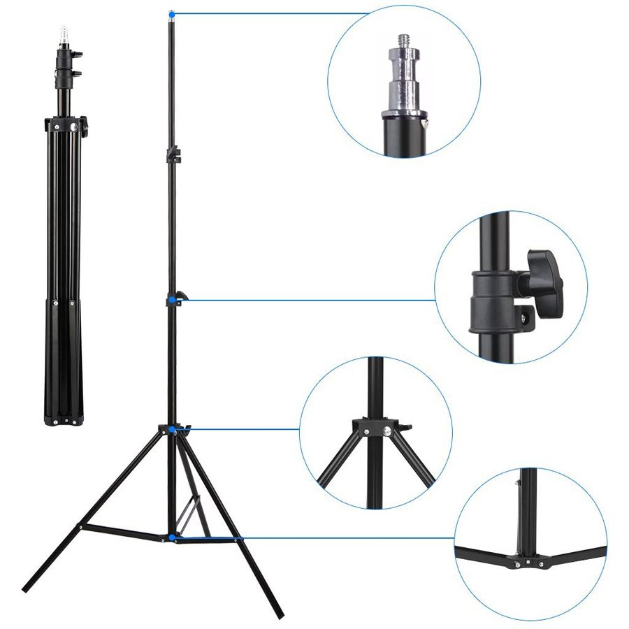 Rebatedor Retangular Prata Branco Estúdio - 80x150cm com Tripé LS200  - Diafilme Materiais Fotográficos