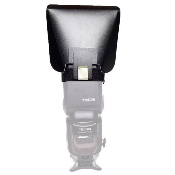 Rebatedor Rígido Universal para Flash Dedicado Speedlight - Monef  - Diafilme Materiais Fotográficos