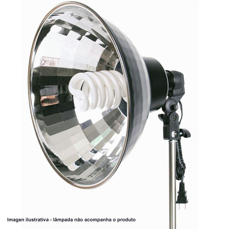 """Refletor de Estúdio Fotográfico para Fluorescente ou Led - FV410 - 16""""  - Diafilme Materiais Fotográficos"""