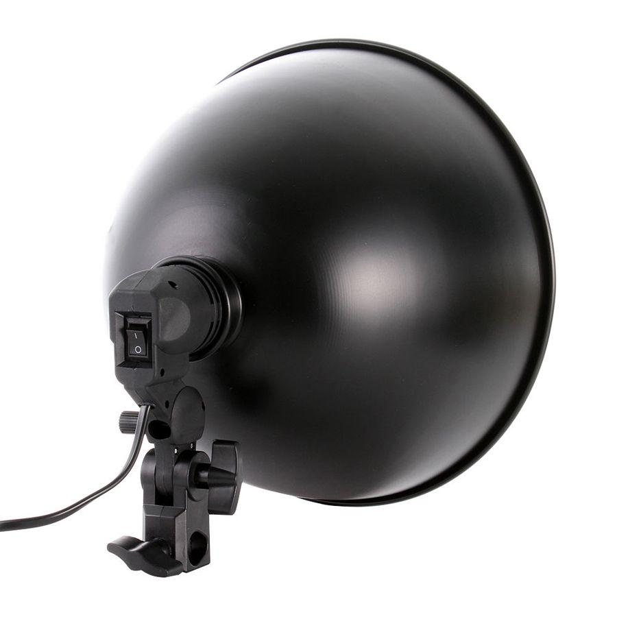 """Refletor de Estúdio Fotográfico para Fluorescente ou Led - FV411 - 11""""  - Diafilme Materiais Fotográficos"""