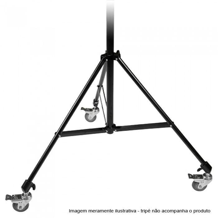 Rodízio para Tripé de Estúdio Wheel Set 3  - Diafilme Materiais Fotográficos