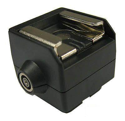 Sapata para Flash Dedicado Speedlight HotShoe - HC-2  - Diafilme Materiais Fotográficos