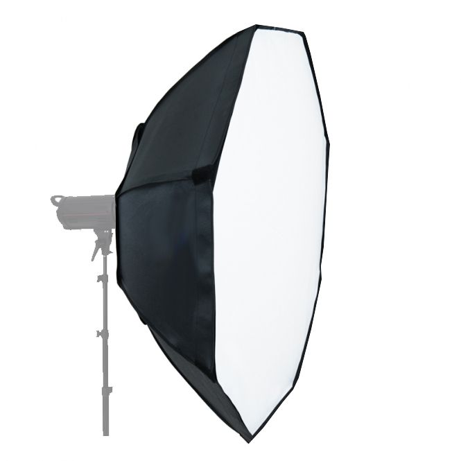 Softbox sem recuo Flash de Estúdio Octogonal - 140cm - Universal  - Diafilme Materiais Fotográficos