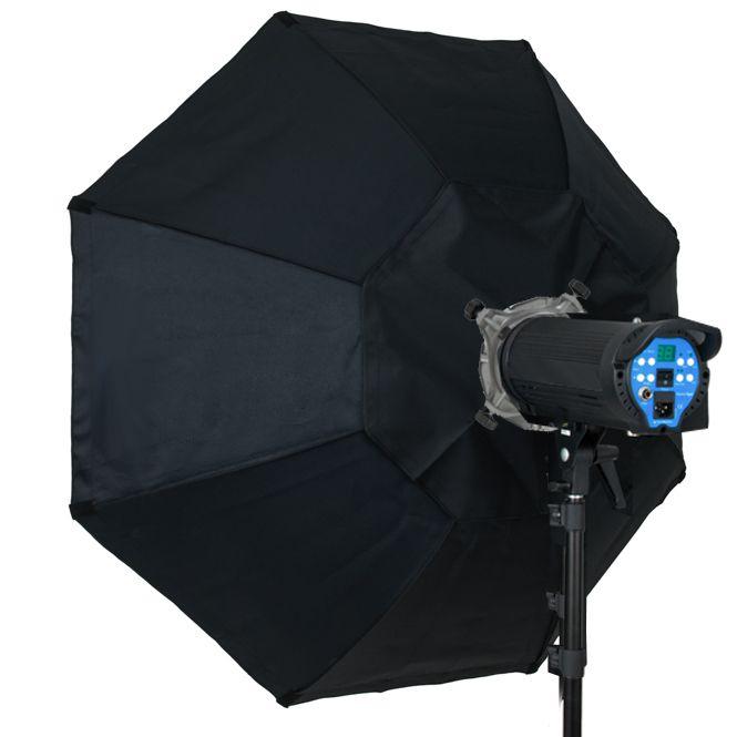 Softbox sem recuo Flash de Estúdio Octogonal - 90cm - Universal  - Diafilme Materiais Fotográficos