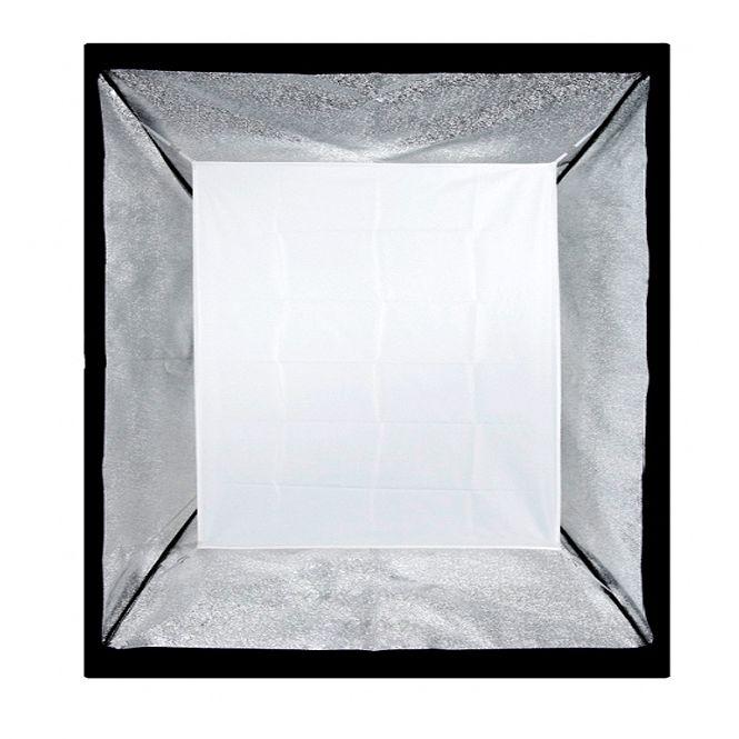 Softbox sem Recuo para Flash de Estúdio - 60x60cm - Universal  - Diafilme Materiais Fotográficos