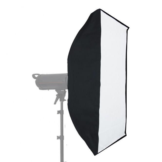 Softbox sem Recuo para Flash de Estúdio - 60x90cm - Universal  - Diafilme Materiais Fotográficos