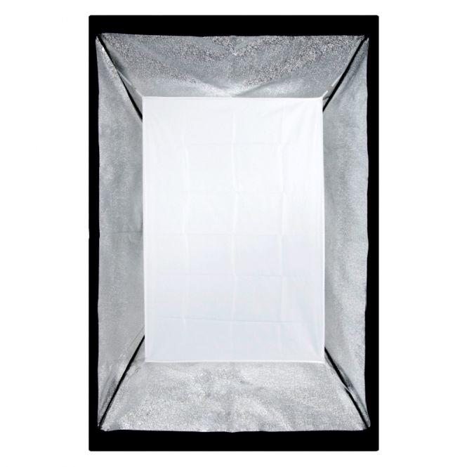 Softbox sem Recuo para Flash de Estúdio - 80x120cm - Universal  - Diafilme Materiais Fotográficos