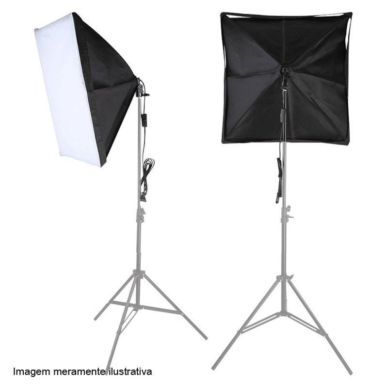 Softbox tipo Sombrinha para Iluminação Continua E27 - 50x70 cm  - Diafilme Materiais Fotográficos