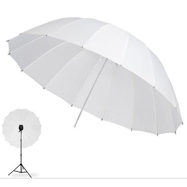 Sombrinha para Estúdio Fotográfico Difusora - 145cm  - Diafilme Materiais Fotográficos