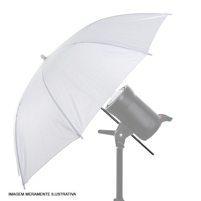 Sombrinha para Estúdio Fotográfico Difusora - 95cm  - Diafilme Materiais Fotográficos