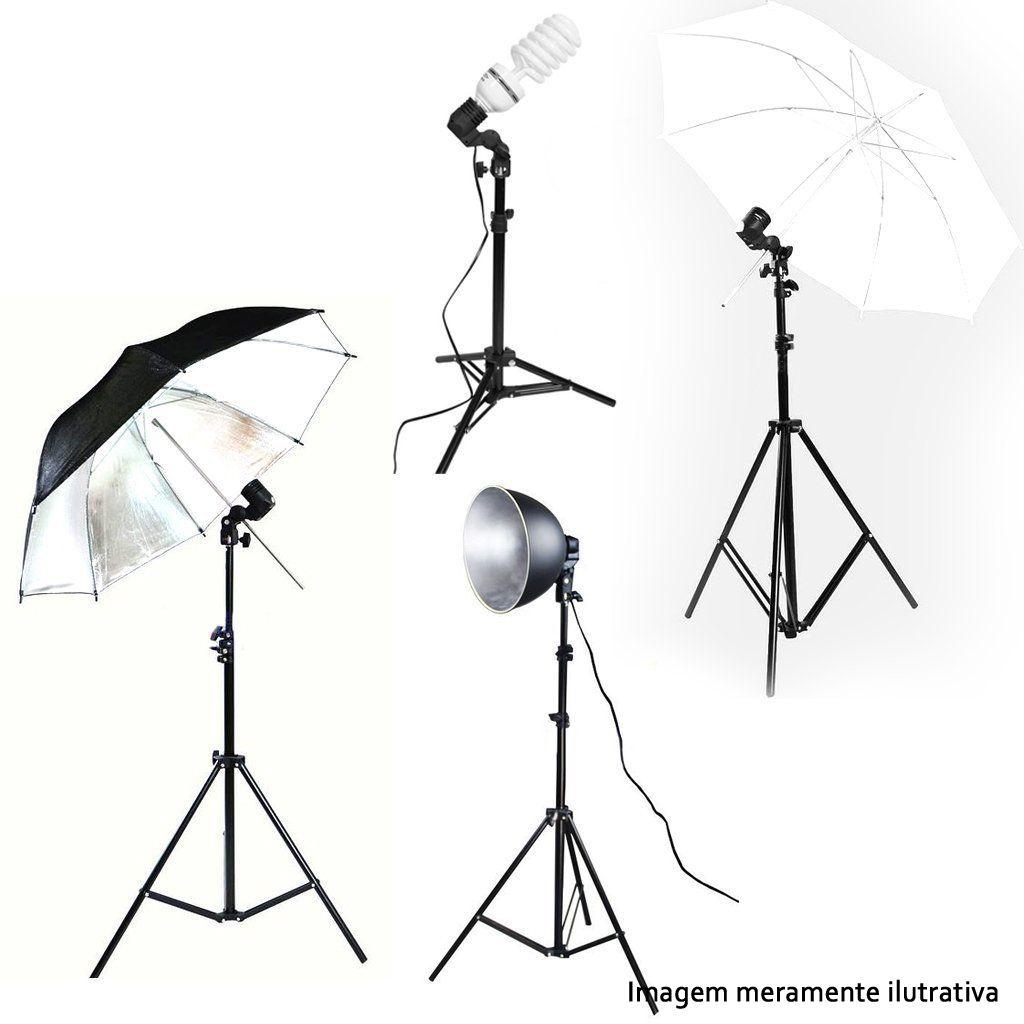Suporte Articulado para Iluminação de Estúdio - Base E27  - Diafilme Materiais Fotográficos