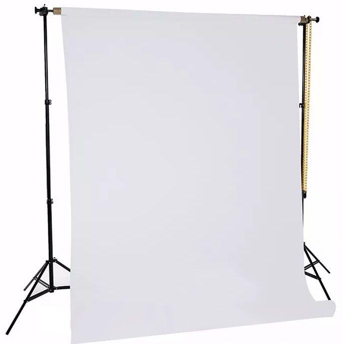 Suporte Fundo Infinito com Tripé para 01 Rolo com Expan - EX260HD  - Diafilme Materiais Fotográficos