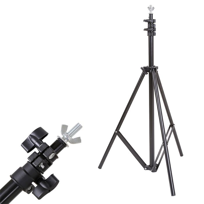 Suporte Fundo Infinito Movel Vinil ou Tecido - BT02 - 1,40m x 1,90m  - Diafilme Materiais Fotográficos
