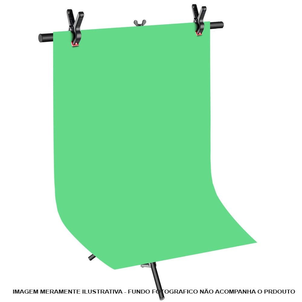 Suporte Fundo Infinito Movel Vinil ou Tecido - BT02 com Garras  - Diafilme Materiais Fotográficos