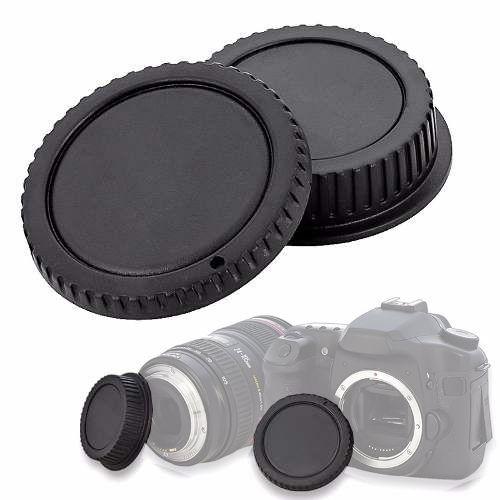 Tampa de proteção para corpo e objetiva DSLR - Canon  - Diafilme Materiais Fotográficos
