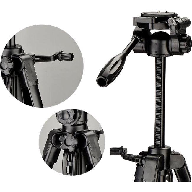 Tripé Câmera DSLR Vídeo - Digipod TR 452 - 1,35m  - Diafilme Materiais Fotográficos