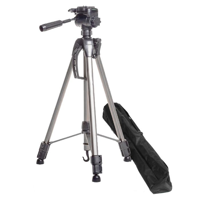 Tripé Câmera DSLR Vídeo - Nest KT2013 - 1,54m  - Diafilme Materiais Fotográficos