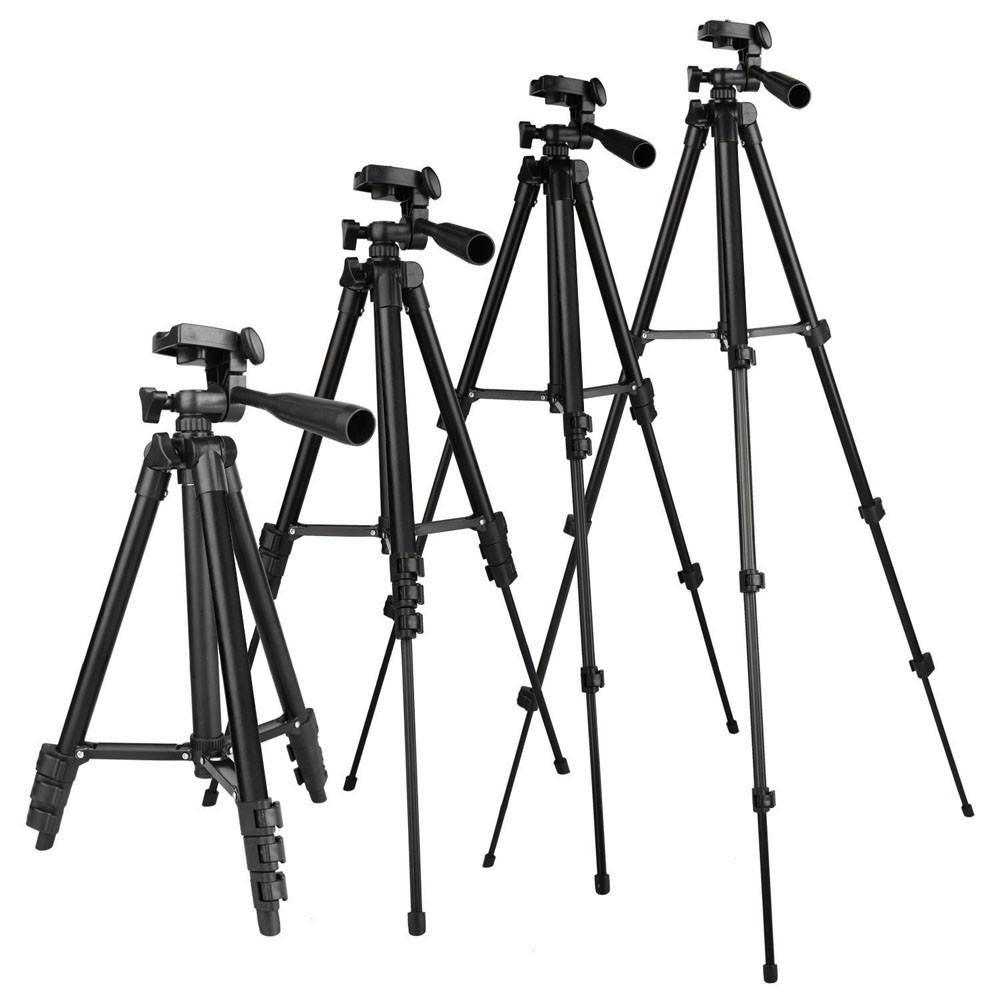 Tripé Câmera Foto Vídeo - Tefeng TF 3110 - 1,02m  - Diafilme Materiais Fotográficos