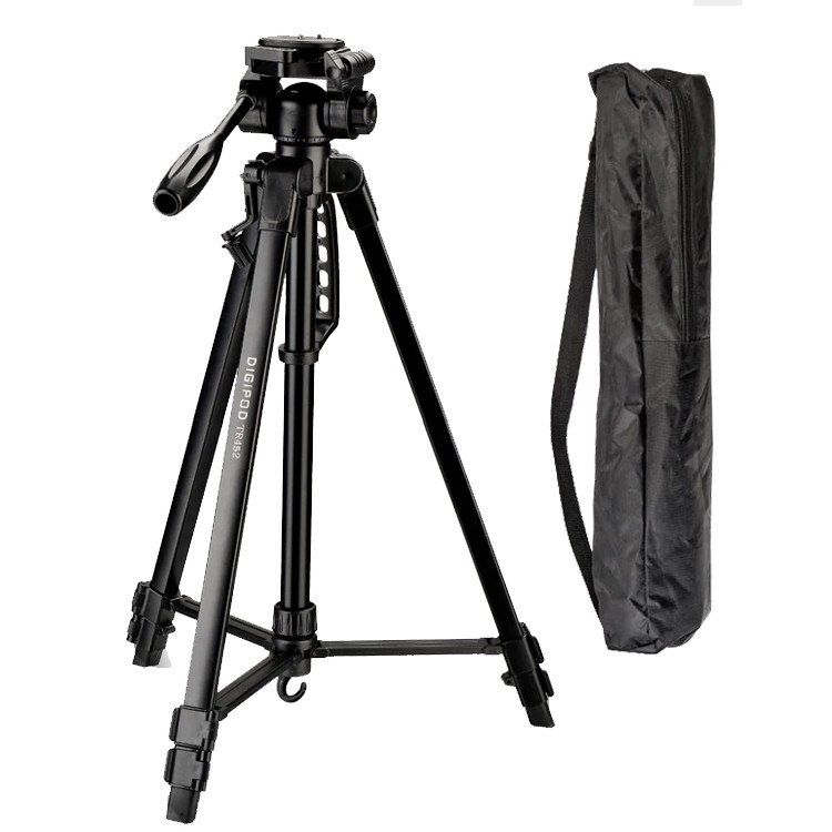 Tripé Digipod TR 452 com Suporte para Smartphone LW105  - Diafilme Materiais Fotográficos