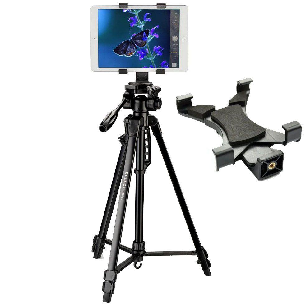 Tripé Digipod TR 452 com Suporte para Tablet  - Diafilme Materiais Fotográficos
