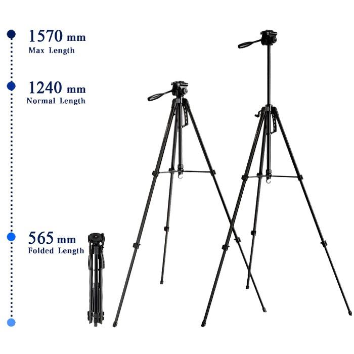 Tripé Digipod TR 462 com Suporte para Smartphone BJ019  - Diafilme Materiais Fotográficos