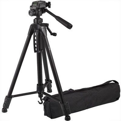 Tripé Câmera DSLR Vídeo - Tefeng TF-6860 - 1,57m  - Diafilme Materiais Fotográficos