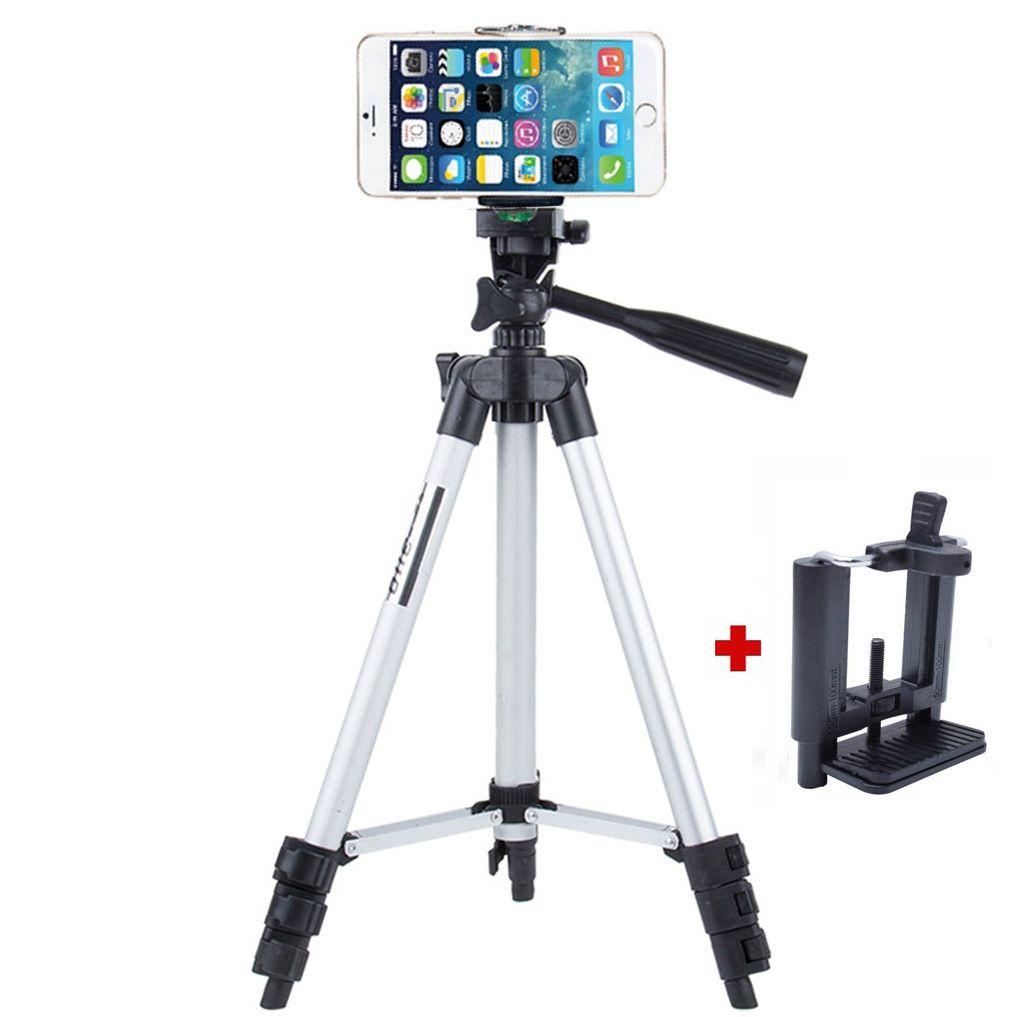 Tripé Câmera Foto e Celular - TF-3110 - 1,02m  - Diafilme Materiais Fotográficos