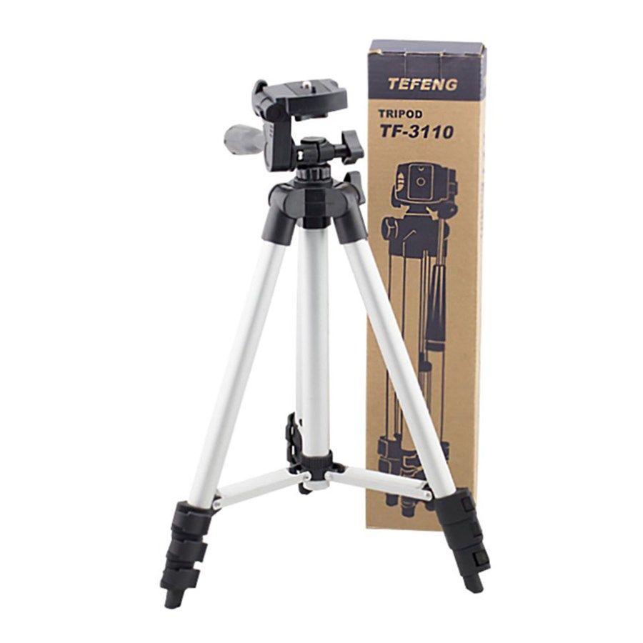 Tripé Câmera Foto Vídeo GOPRO - Tefeng TF-3110 - 1,02m  - Diafilme Materiais Fotográficos