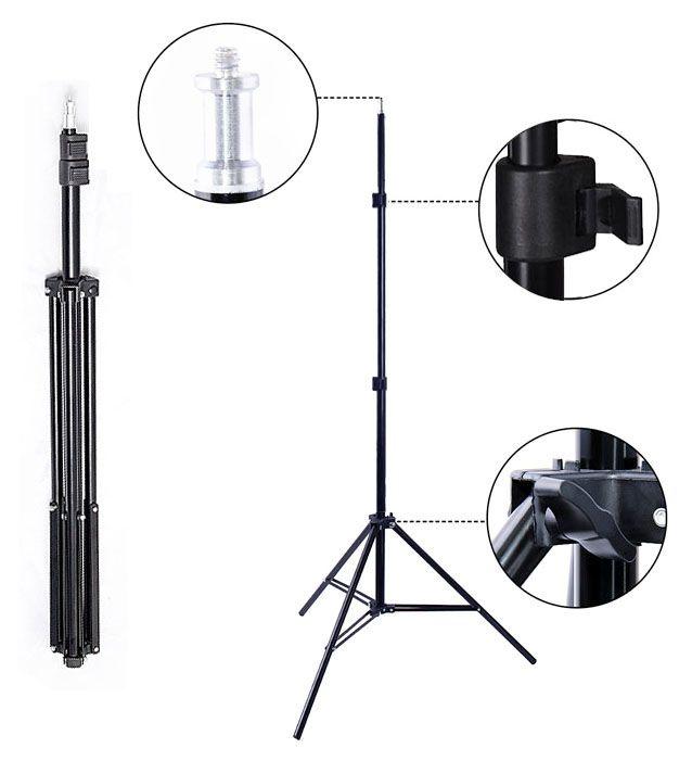Tripé para Iluminação de Estúdio - LS230 - 2,30m Kit 03 Unidades  - Diafilme Materiais Fotográficos