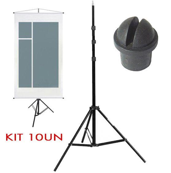 Tripe Porta Banner - LS260 - 2,60m Kit 10 Unidades  - Diafilme Materiais Fotográficos