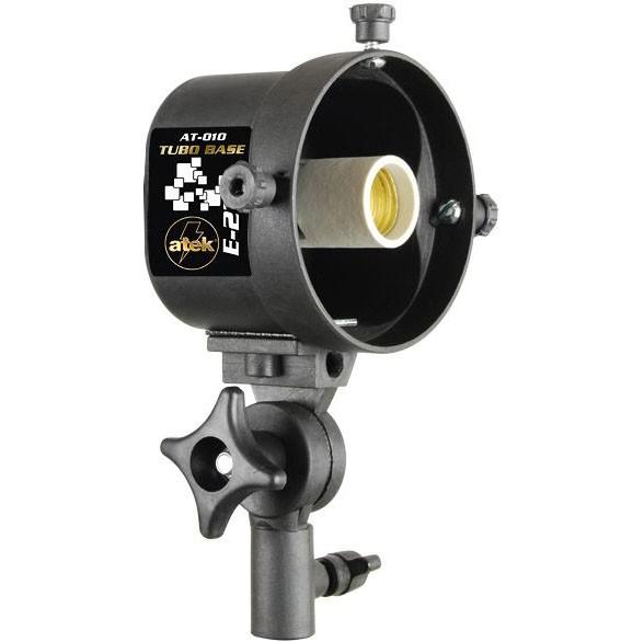 Tubo Base para Iluminação Fluorescente ou Led rosca E27 - Atek 010  - Diafilme Materiais Fotográficos