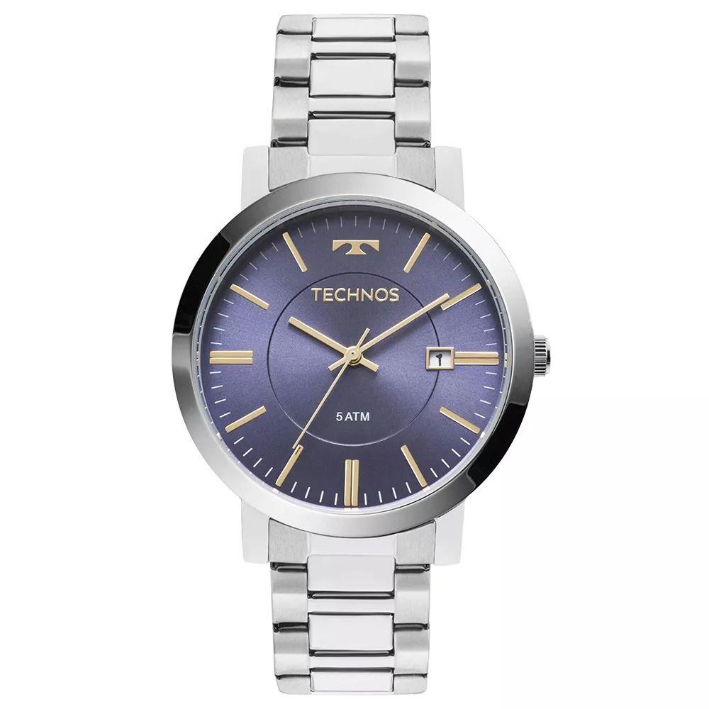 2e24f0720fa Relógio Technos 2115KZY 3A pulseira de aço prata - Vanglore