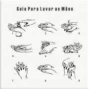 Azulejo Guia para Lavar as Mãos