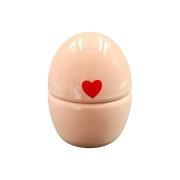 Caixa Ovo Rosa Porcelana Coração