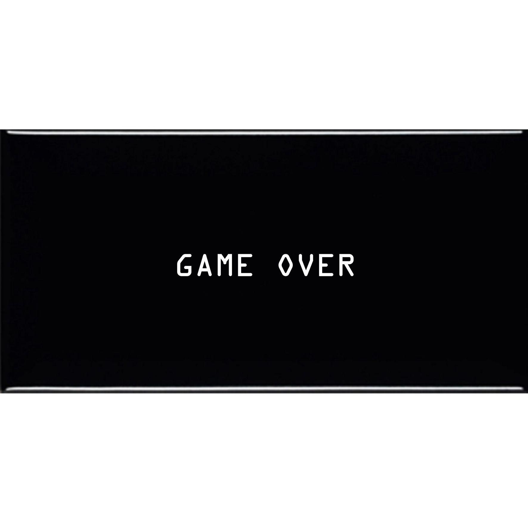 Azulejo Retangular Game Over