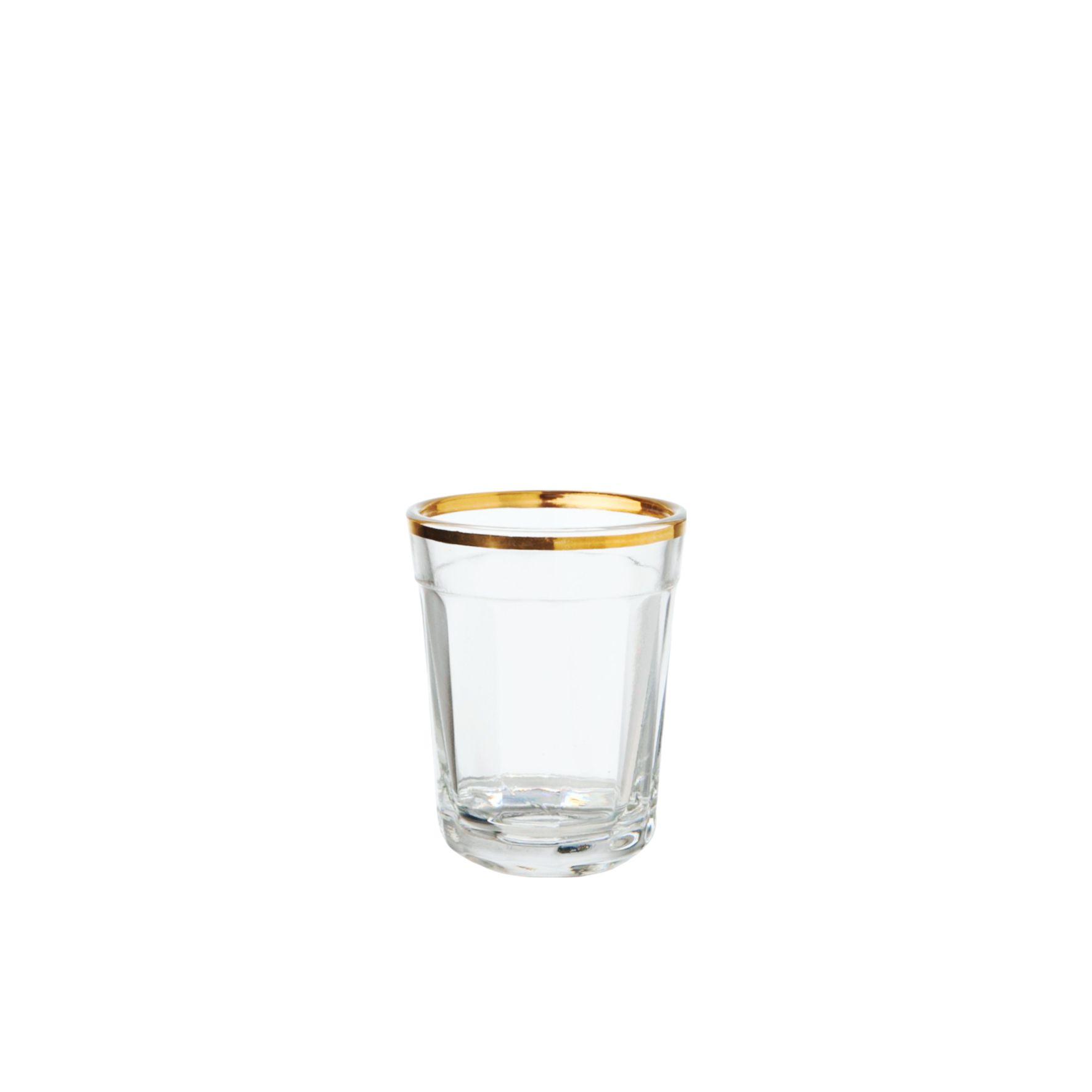 Filete Ouro - Copo Shot