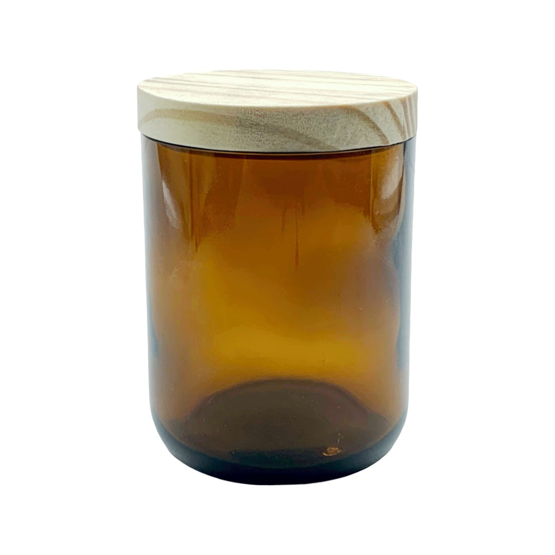 Frasco Reagente Ambar - 500 ml - Copo c/ tampa