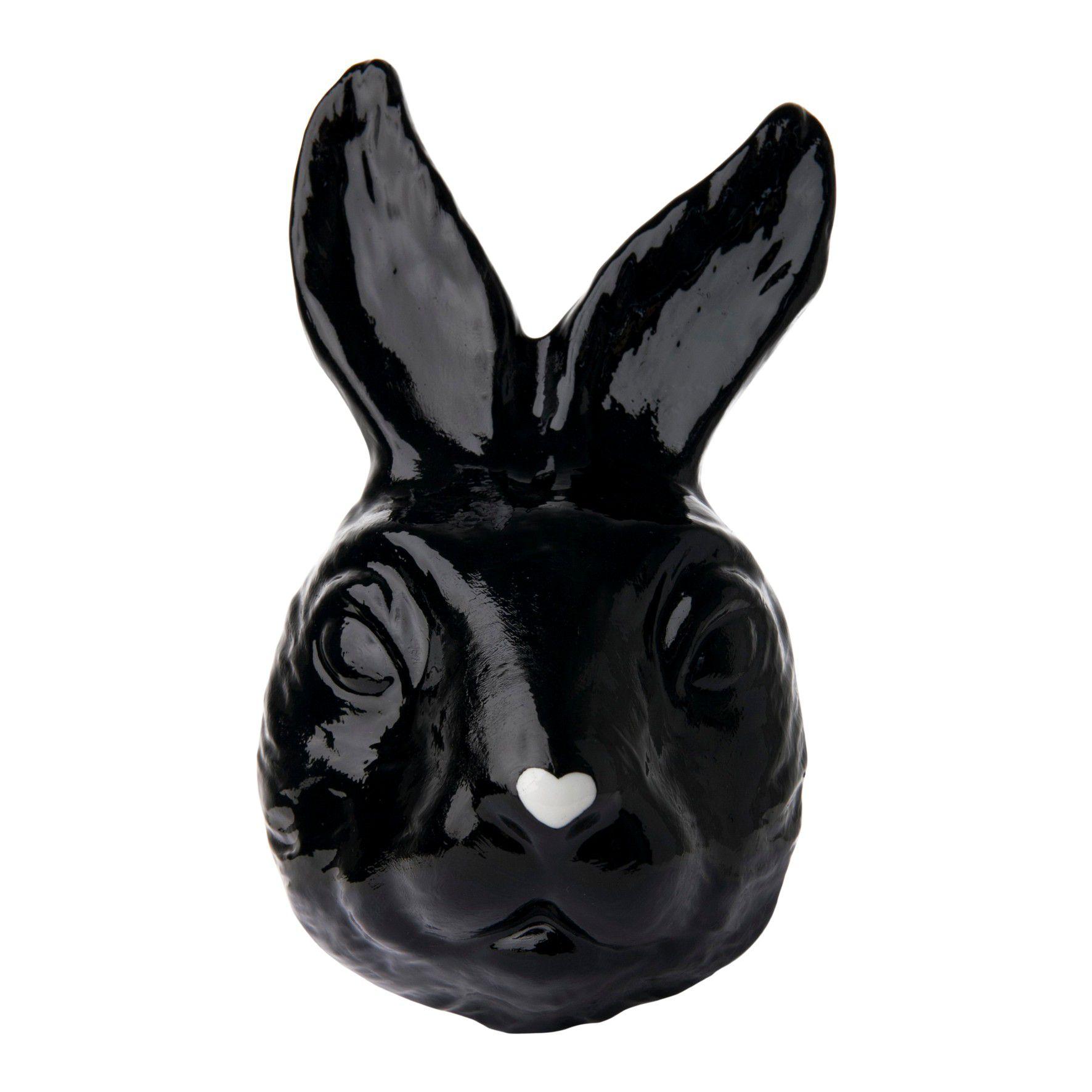 Máscara Coelho Preto