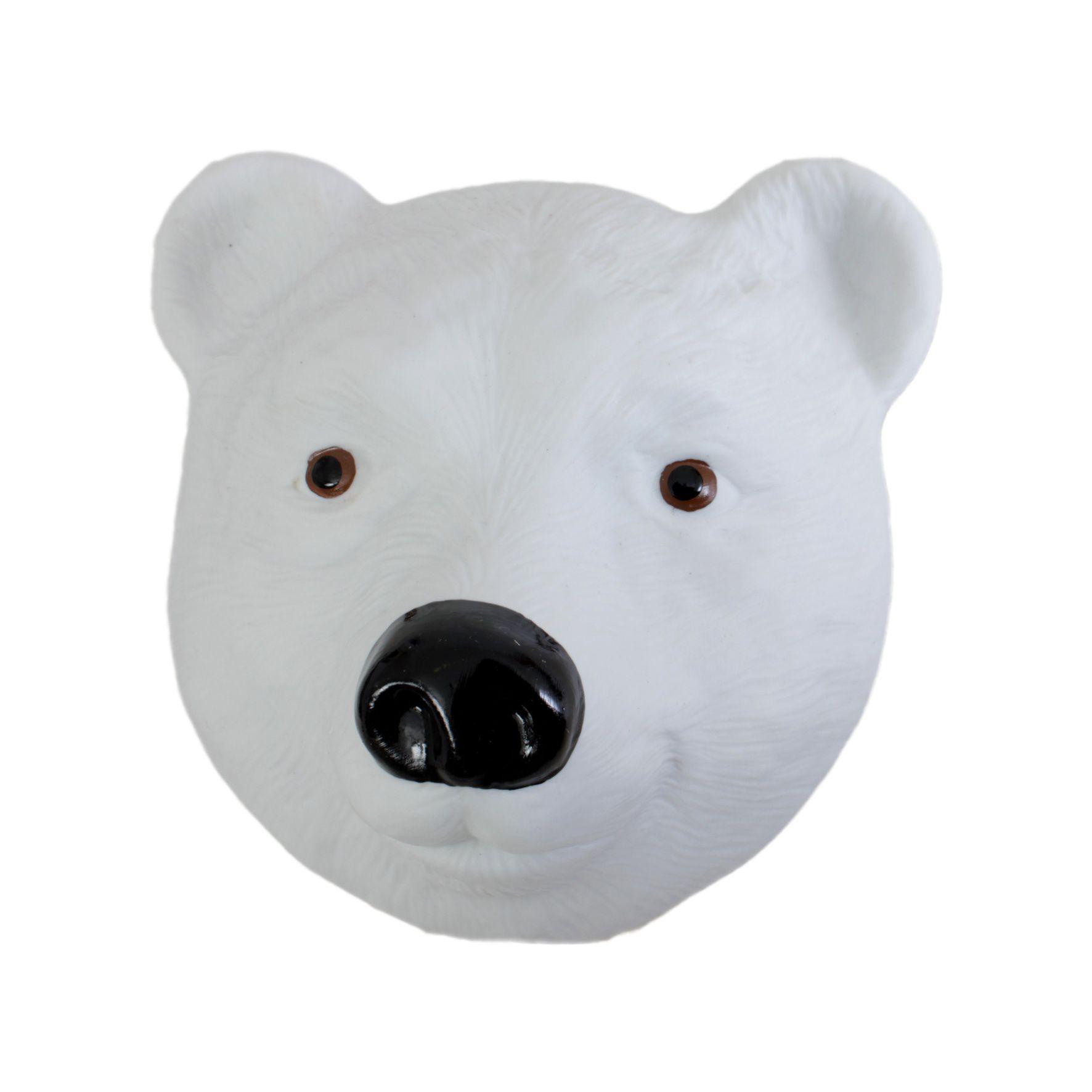 Máscara Urso Focinho Preto