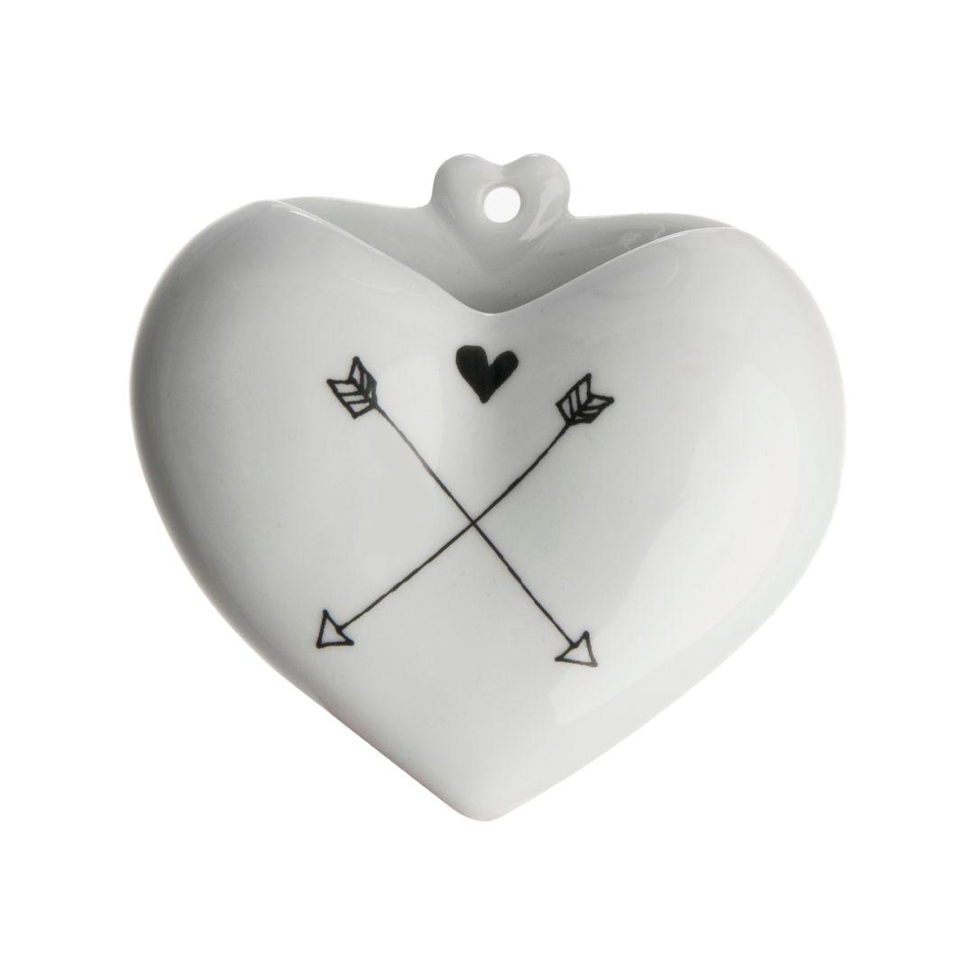 Vaso Coração Setas