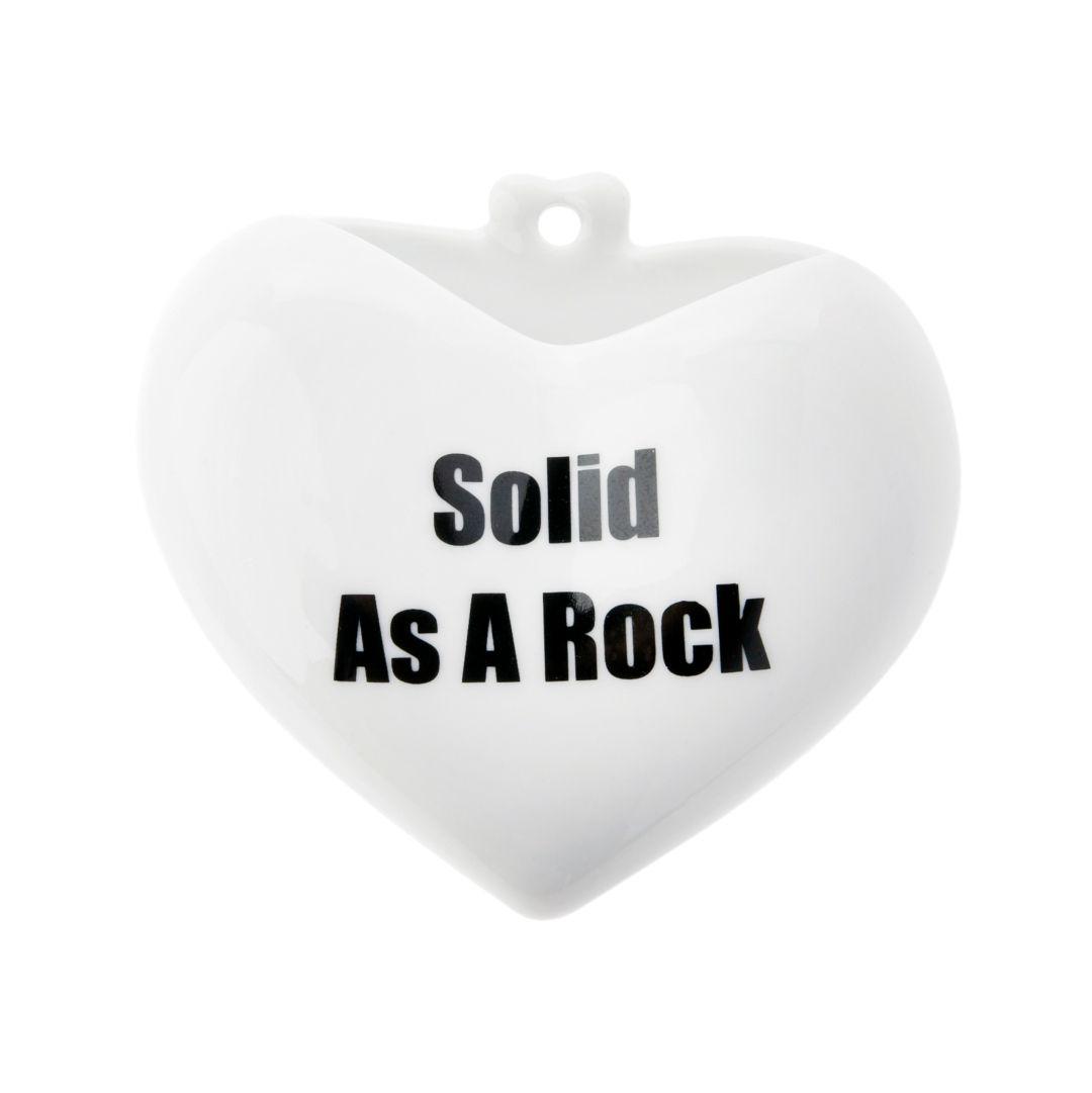 Vaso Coração - Solid as a rock