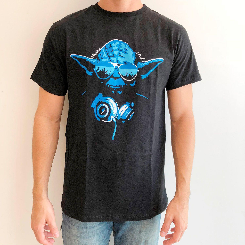 Yoda DJ T-shirt