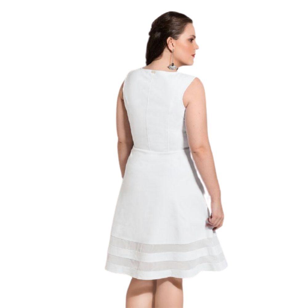 Vestido Godê Feminino Plus Size