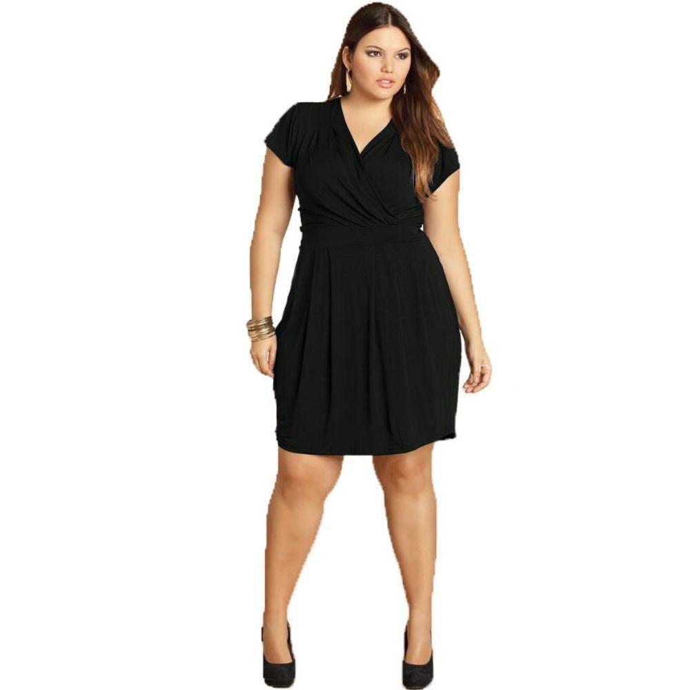 Vestido Plus Size Feminino