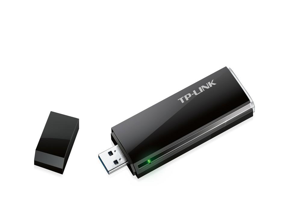 Adaptador Tp Link Usb Wireless Dual Band Ac1300 Archer T4u