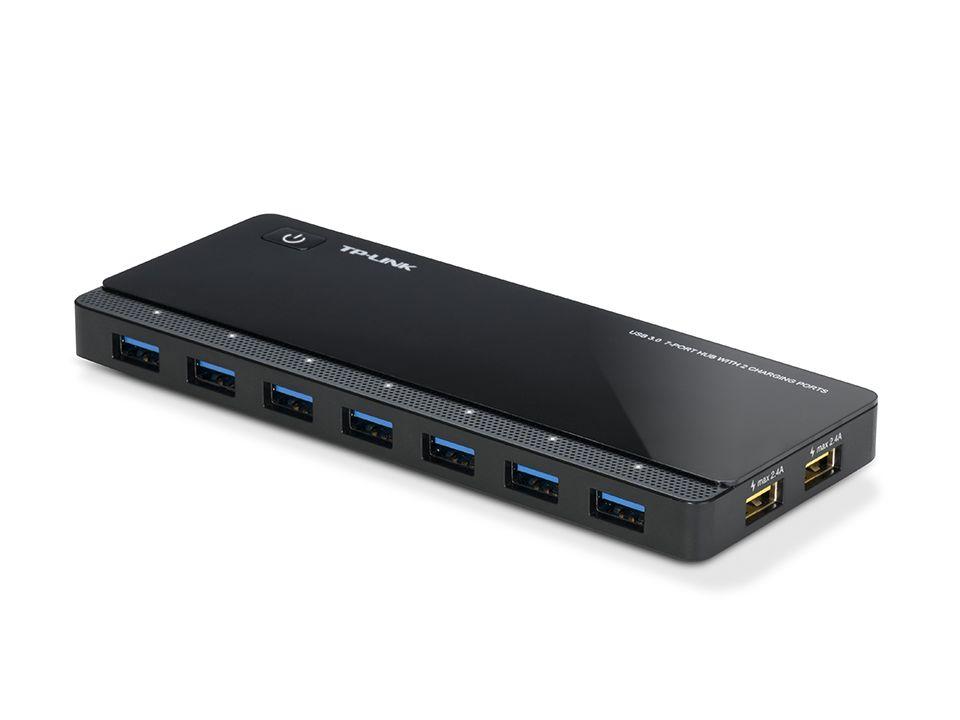 Hub Usb 3.0 V2 De 7 Portas + 2 Portas Tp-link Uh720