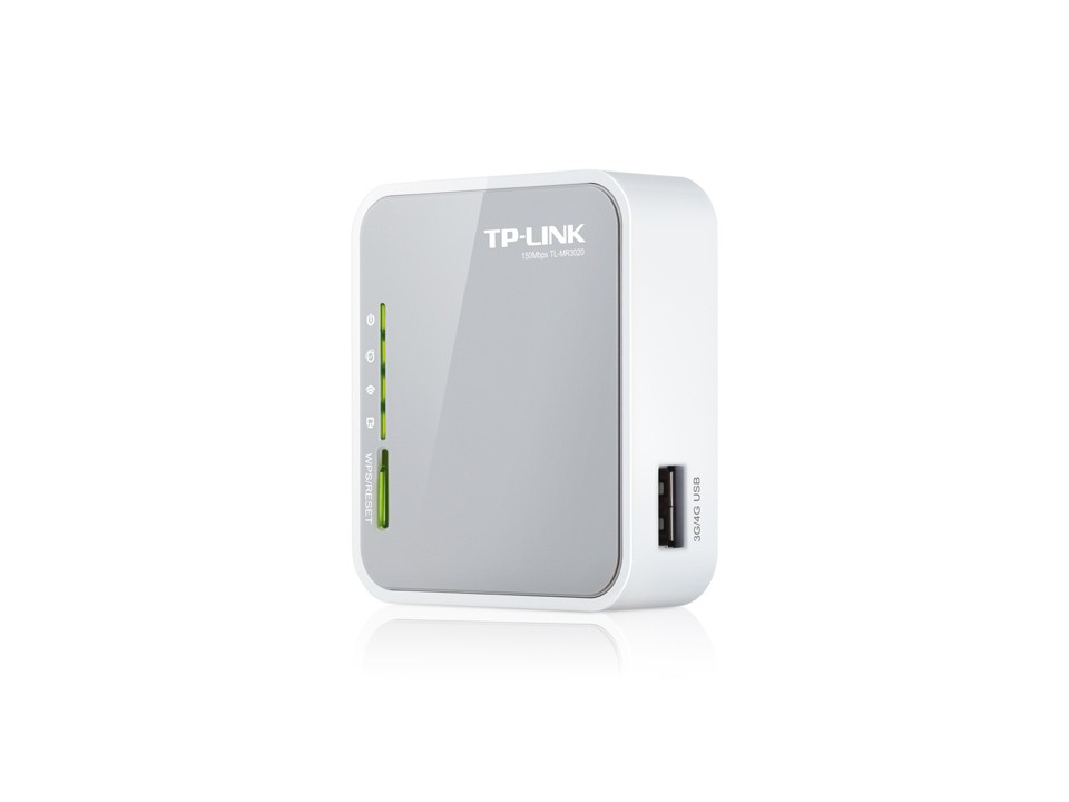 Mini Roteador Wi-fi Portátil 3g/4g Tp-link Tl-mr3020