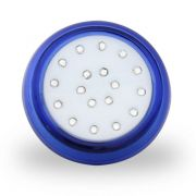 Luminária para Piscina Led Azul 18W 12V 8cm